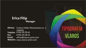 Carti de vizita fullcolor business corporate office afaceri