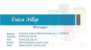 Carti de vizita full color busines simple office corporate afaceri