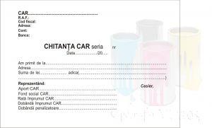 Chitantier A6 CAR IFN 3 exemplare ieftin