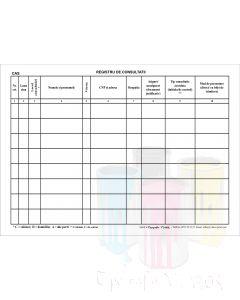 Registru de consultatii medicale